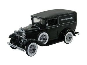 1931 Ford Panel Car Police Patrol 1/18 Black