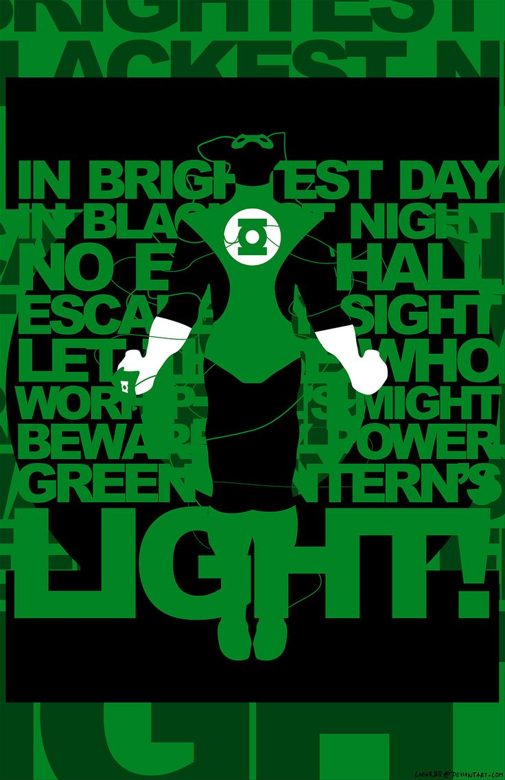 Poster design tumblr - Green Lantern Oath Poster Check Out My Other Work On Tumblr Or On Deviantart Http
