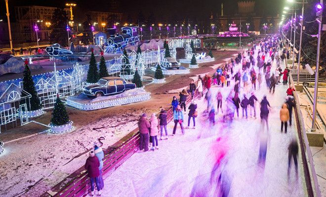 Испытано на себе: лучшие катки в Москве - Woman's Day