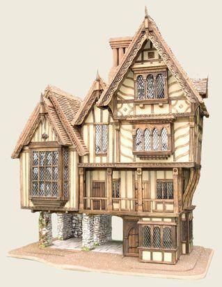 Tudor doll houses.....: Art Dollhouses, Tudor House, Tudor Dolls, Triggerpond Dollhouses, Ponds Dollhouses, Crosses Keys, Tudor Dollhouses, Doll Houses, Dolls Houses I