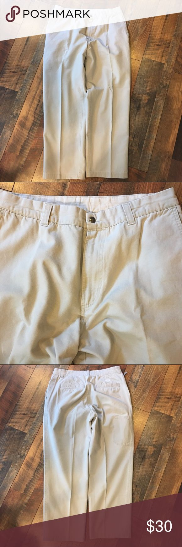 "Columbia Sportswear Khakis Carpenter Jeans Size 36 This is a pair of Men's Columbia Sportswear Canvas Khakis Carpenter Jeans with Side Zip pocket. Size 36 30. The inseam on these pants are 29"". These pants are still in excellent gently used condition and have no visible defects or signs of ware. Please take a look at all photos for condition and if you have any questions feel free to ask. Columbia Sportswear Pants Chinos & Khakis"