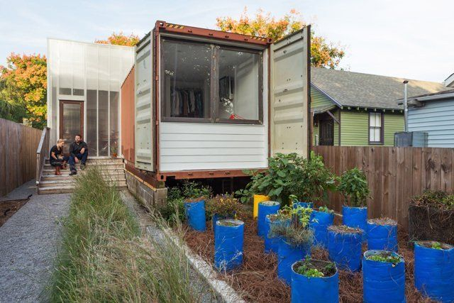 House Tour: A Sleek Shipping Container New Orleans Home   Apartment Therapy