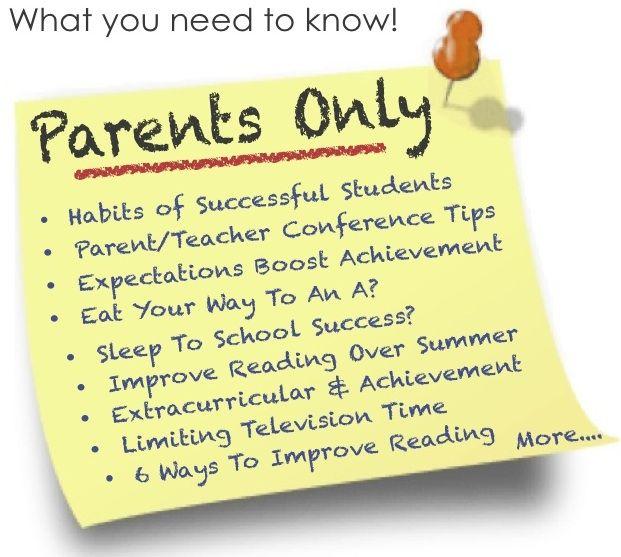 Research papers regarding parental involvement