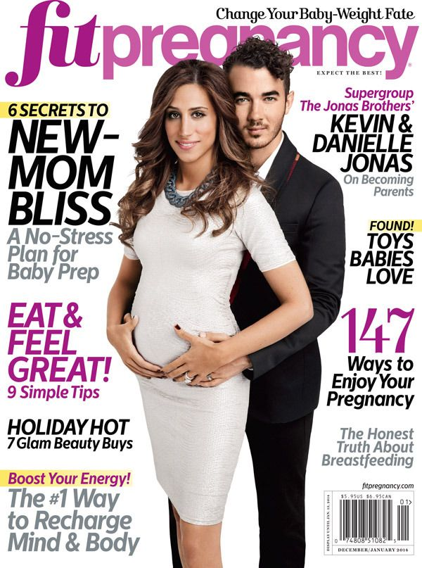 Kevin and Danielle Jonas: Baby Bump on Fit Pregnancy Cover