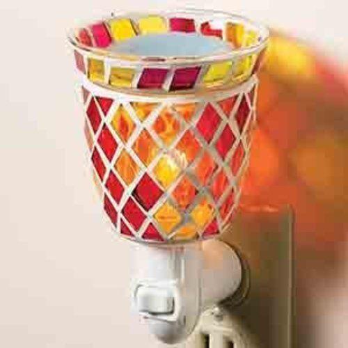Mosaic Plug-In Tart Burner - Sunrise