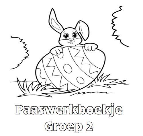 Paaswerkboekje Groep 2