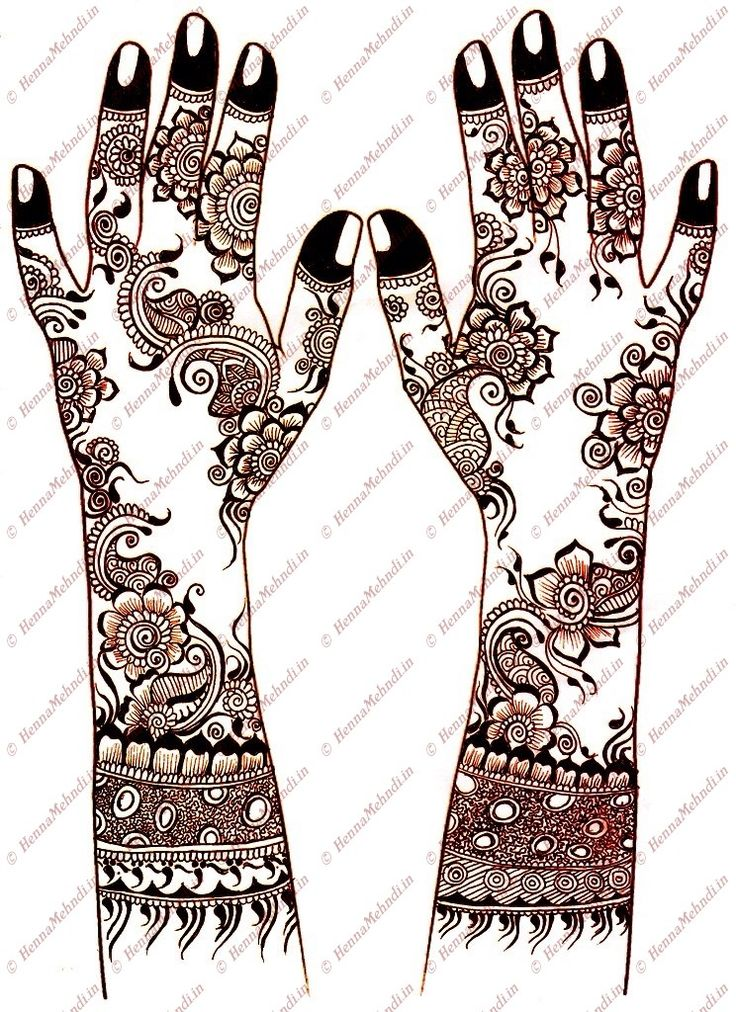 mehandi designs | Henna Mehndi Designs of Latest, Modern and Colorful Patterns - Part 7