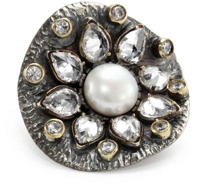 BORA Pearl Blossom Ring, from Brooklyn