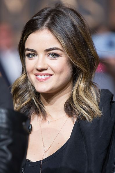 Lucy Hale attends the 88th Annual Macy's Thanksgiving Day Parade Rehearsals on November 25, 2014 in New York City