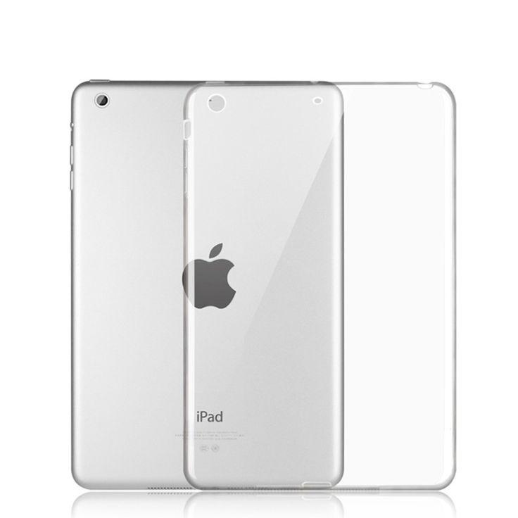 Soft TPU Skin Silicon Back Case Cover Silk Slim Clear Transparent Case for Apple iPad Mini 123/Air 1/Air 2/iPad 234/iPad Pro 9.7