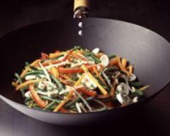 Photo de Légumes sautés au wok
