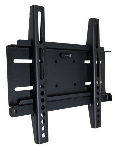 """Arrowmounts AM-F3220B Universal Flat Wall Mount for 23 to 37-Inch Flat Panel Televisions, Black by Arrowmounts. $27.28. Features: Solid heavy - gauge steel construction durable powder coated finish. Low profile - installs only 25mm (1.0"""") from wall. Lift -and- Hook design makes installation fast and easy. Compatible with many hole patterns including VESA standard. Screen size: 23 - 37 inch. Max Loading: 80 lbs. Adjusts laterally even after installation. Includ..."""