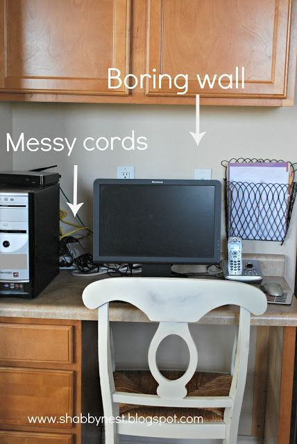 Best 25 Hide Computer Cords Ideas On Pinterest Hiding
