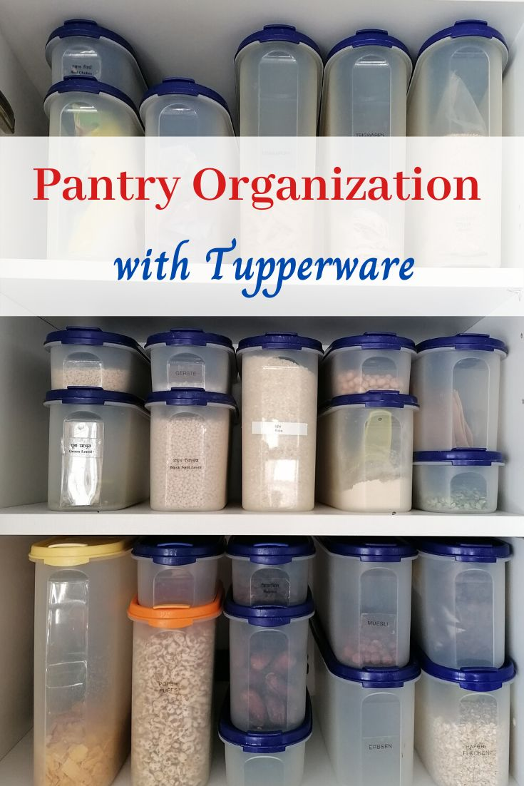 pantry organization with tupperware in 2020 tupperware organizing tupperware pantry organization on kitchen organization tupperware id=23783