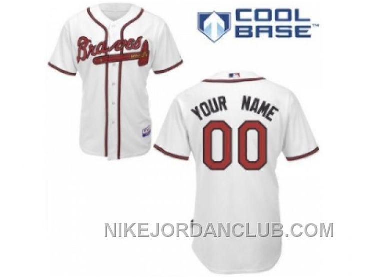http://www.nikejordanclub.com/coustom-atlanta-braves-jersey-white-home-cool-base-baseball-sainm.html COUSTOM ATLANTA BRAVES JERSEY WHITE HOME COOL BASE BASEBALL SAINM Only $60.00 , Free Shipping!