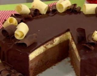 Tentadora torta de tres chocolates | Sweet sweet life! | Pinterest