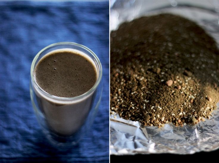 Homemade soy protein powder