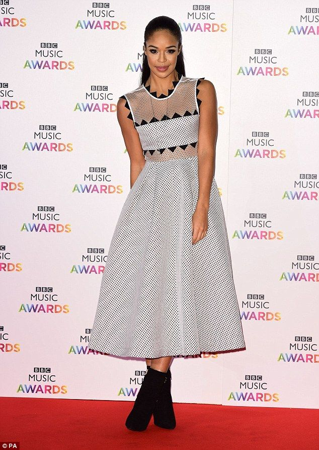 Fabulous! Xtra Factor presenter Sarah-Jane Crawford looked demure as she arrived at the ev...
