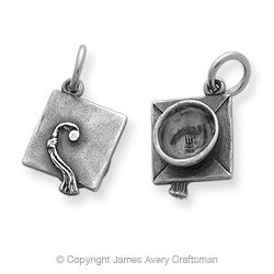 Mortarboard Charm from James Avery