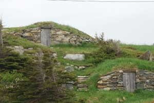 "Elliston, Newfoundland... is known as the ""Root Cellar capital of the World"" and has 134 documented root cellars, some dating back to the 1830's."