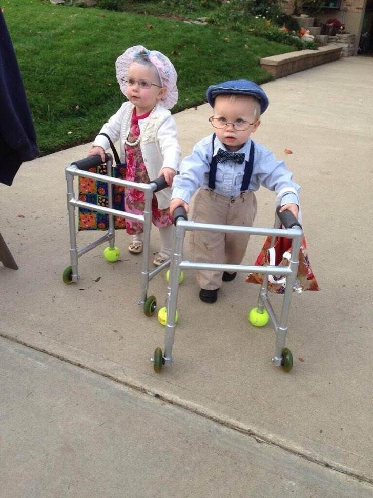 best halloween costume ever or diciples of benjamin button