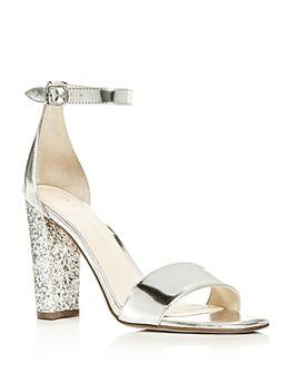 rewardStyle Ivanka Trump Women's Emalyn Ankle Strap Block Heel Sandals