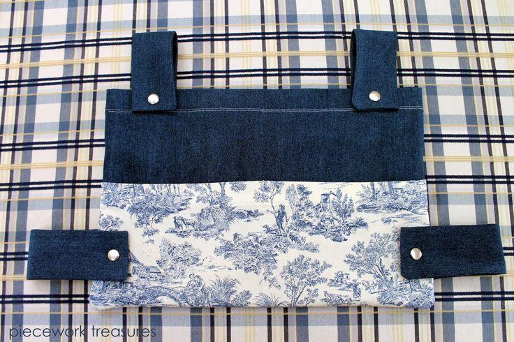 Walker Bag Pattern Free | Piecework Treasures: a new Walker Bag completed