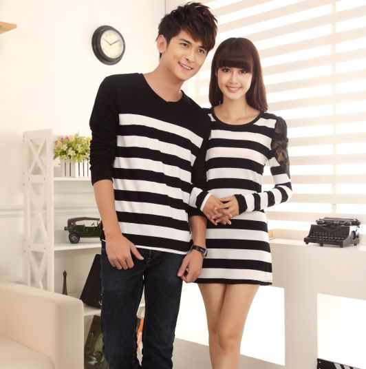 black t shirt style dress korean