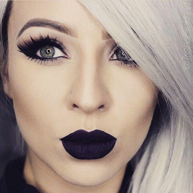 Black Lipstick, Black Friday!!!!!!anastasia beverly hills liquid lipstick  #blacklipstickblackfriday