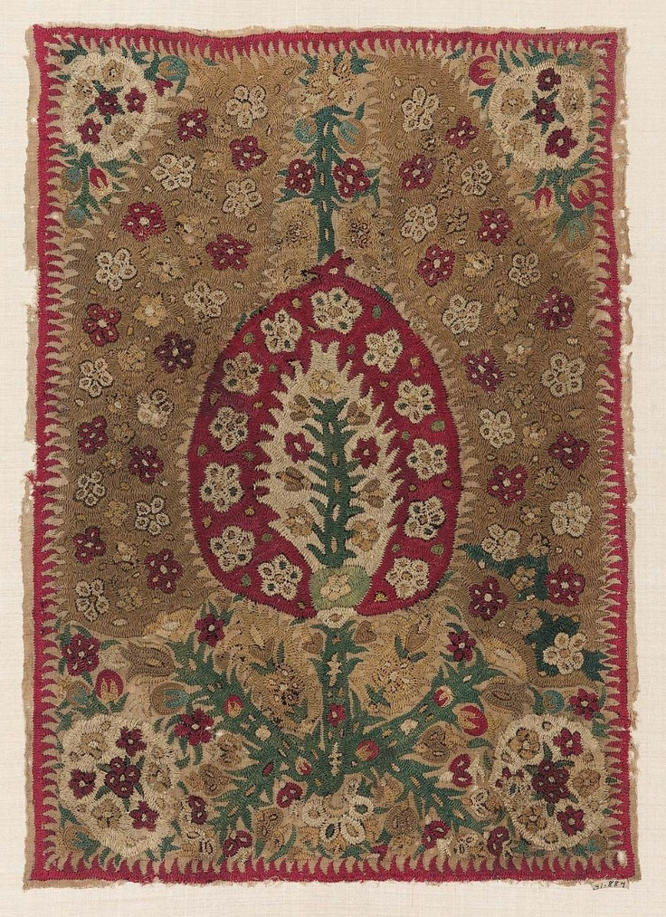 Linen and Silk Embroidery, Greek, 18th century.