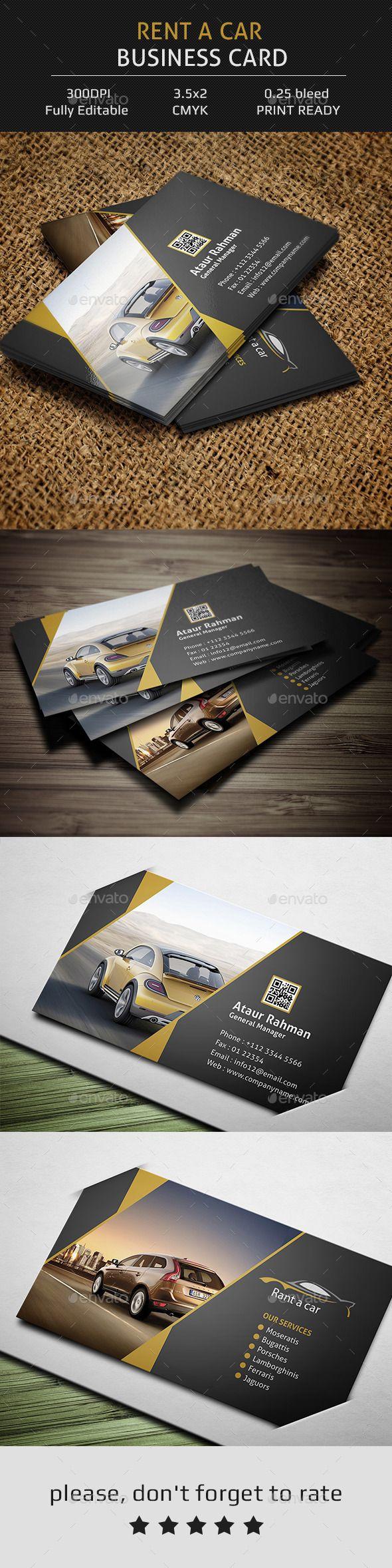709 best tarjetas de presentacion images on pinterest rent a car business card reheart Images