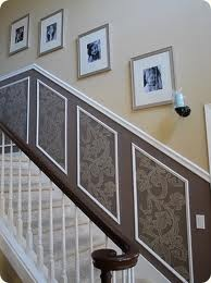 Neat idea with wallpaper
