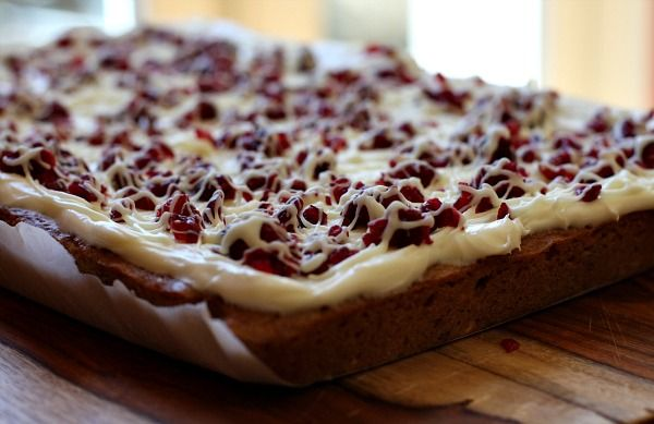 Cranberry Bliss Bars- these look SO good! I love cranberry anything ...