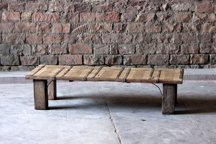 Kasi Upcycled 'Fortress Door' Coffee Table