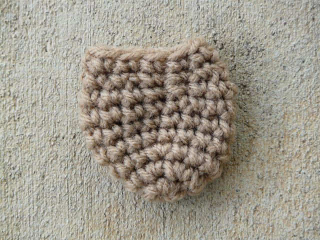 Fitted chair leg sock Materials: 3.5mm hook Red Heart Super Saver (I have used Buff and Warm Brown) yarn needle removable stitch marker Note: I crochet loosely. If you tend to crochet tightly, you ...