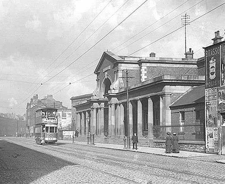 Harcourt street dublin (old railway station) 1900