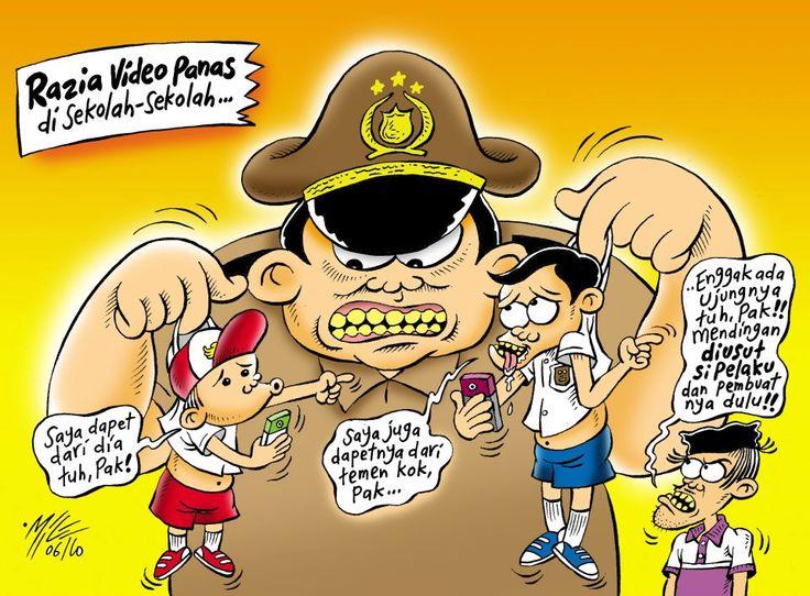 Mice Cartoon, Rakyat Merdeka - Oktober 2010: Razia Video Panas di Sekolah