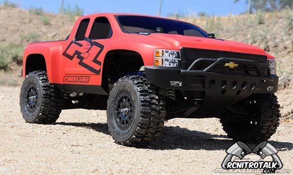 Slash Chevy Silverado HD body from Proline - RCNitroTalk