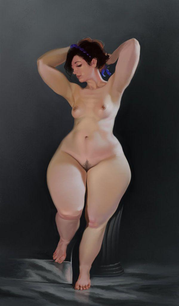 Pinterest extreme curves naked