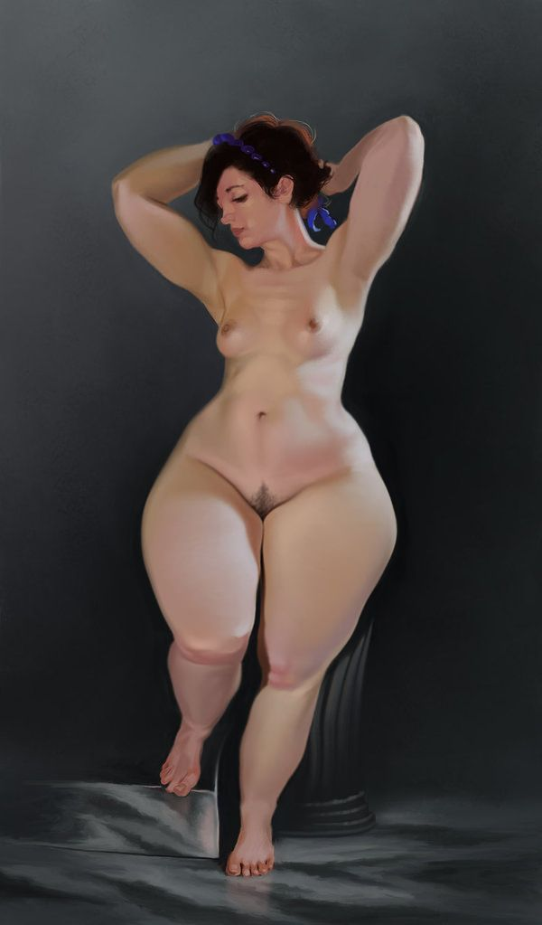 Wide hips and big boobs women nude