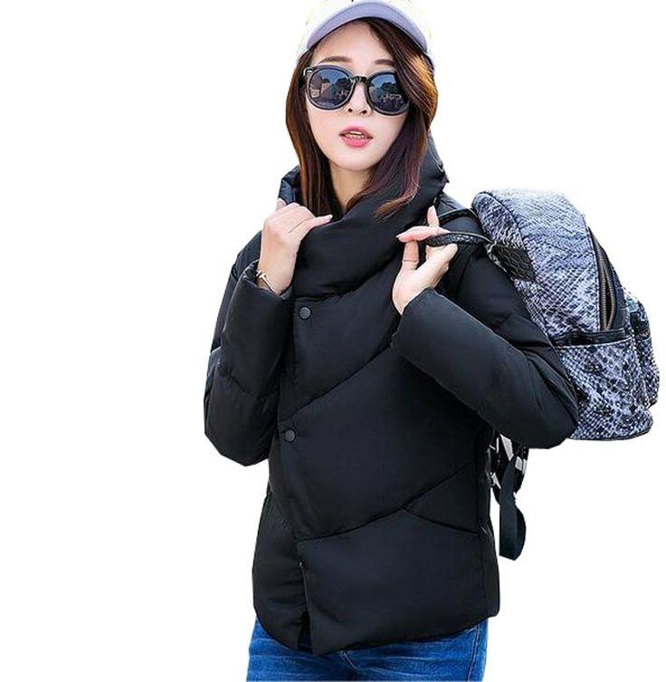 29.71$  Watch here - https://alitems.com/g/1e8d114494b01f4c715516525dc3e8/?i=5&ulp=https%3A%2F%2Fwww.aliexpress.com%2Fitem%2Ffashion-new-winter-jacket-women-short-coat-stand-collar-slim-thick-wadded-outerwear-down-cotton-warm%2F32726432121.html - fashion new winter jacket women short coat stand collar slim thick wadded outerwear down cotton warm solid female coat kp1127
