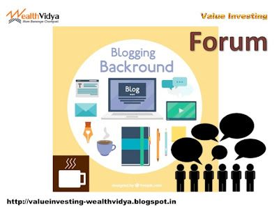 Value Investing: Wealth Vidya's Value Investors' Forum Slide
