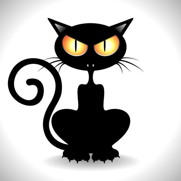 Юбилеем, злые коты картинки нарисованные