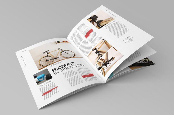 InDesign Magazine Template by broluthfi  on Creative Market
