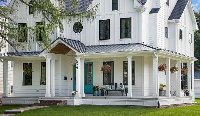 Exterior Paint Colors You Want A Fresh New Look For Exterior Of Your Home Get Inspire Modern Farmhouse Exterior Farmhouse Exterior Colors Farmhouse Exterior