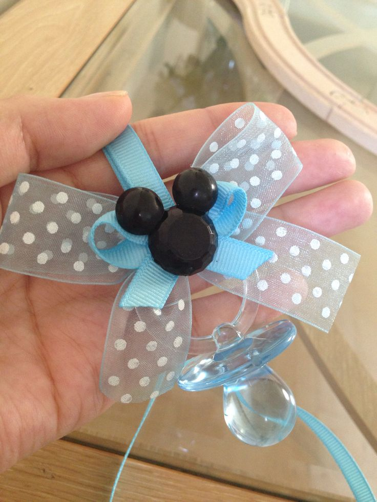 Mickey Mouse baby shower party favor. On my etsy store. Marcenari party decor. Http://etsy.me/1jPTFAj
