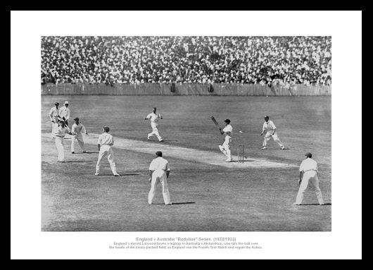 Bodyline Series 1932 33 Classic England Ashes Cricket Photo Memorabilia 113 | eBay