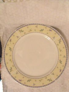 LN Beautiful PAPILLON by SANGO CHOP PLATE Pattern #: 8838 DINNERWARE China PLATE