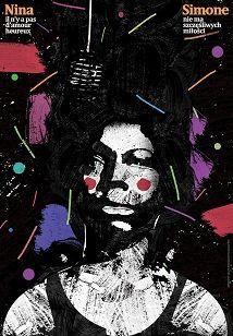 Nina Simone, plakat jazzowy, Jakub Zasada