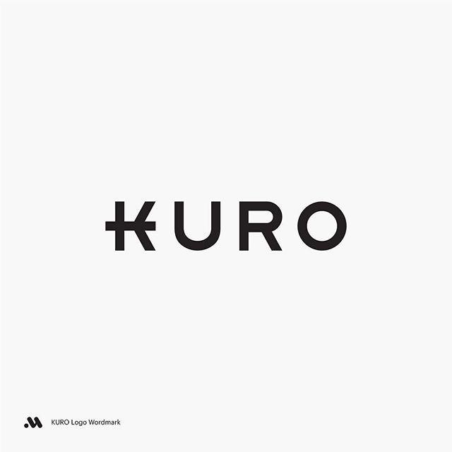 KURO Logo Wordmark.  #kuro #logo #typography #wordmark #minimal #japanese #restaurant #sushi #branding #graphicdesign #identitydesign #brandingdesign #logodesigner #logotypes @logoinspirations @typetopia